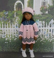 NEW HAND KNITTED OUTFIT FOR SASHA DOLL by Alicewhitewings