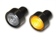 Schwarze LED Mini/microintermitente,Mini luz intermitente,MONO,M10 Montaje,