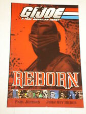 G.I. JOE REBORN VOL 1 DEVIL'S DUE PUBLISHING PAUL JENKINS SCARCE  9781932796025