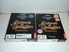 neverwinter nights shadow of undrentide expansion pack big box pc cd game aus