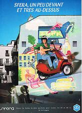 PUBLICITE ADVERTISING 074  1992  PIAGGIO  SFERA   Scooter
