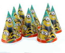 Despicable Me Minions 8 Count Party Hats Paper Goods Birthday Supplies
