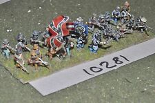 15mm american civil war confederate infantry 30 figures (10281)