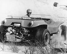 Steve McQueen driving dune buggy Meyers Manx Thomas Crown Affair 24x30 Poster