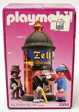 Vintage Playmobil 5350 ~ Victorian Advertising Stand Kiosk ~ 5300 Mansion ~ NISB