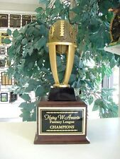 FANTASY FOOTBALL PERPETUAL TROPHY 16 YEARS FFL NEW DESIGN AWESOME MEDIUM STYLE