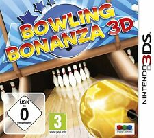 Nintendo 3DS 3 DS Game Bowling Bonanza 3D New