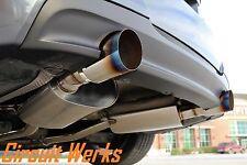 BMW 335i E90 E92 07 08 09 10 Twin Turbo N54 Full Catback Exhaust w/ BURNT TIPS