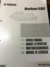 GENUINE YAMAHA WAVERUNNER XL800 MANUAL IN FOUR LANGUAGES FOP-28197-ZA-C1