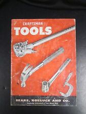 Vintage Tool Catalog - Craftsman - Sears, Roebuck - 1957 - Wrenches Pliers Vice