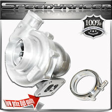 """T72 T4 Turbo Charger Twin Scroll Oil Cooled 4"""" / 2.5""""  & 4"""" VBAND Clamp"""