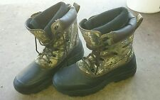 FIELD AND STREAM BOOTS SIZE 12 M~INSULATED  FISHING CONSTRUCTION WORK HUNTING