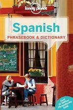 SPANISH PHRASEBOOK AND DICTIONARY 6 by Lonely Planet (2015, Paperback)