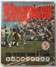 1971 CFL STICKER ALBUM EDDIE SARGENT COMPLETE SET 225 JOE THEISMANN RC MOSCA +++