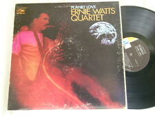 ERNIE WATTS QUARTET Planet Love Clarence McDonald World Pacific LP