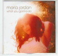 (EF552) Maria Jordan, What You Gonna Do - 2013 DJ CD