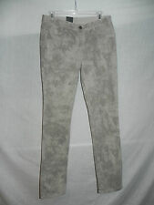 CALVIN KLEIN REVERSIBLE DENIM JEANS COLORED SHADOW SIZE 10 INSEAM 32 NWT $99.50