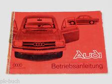 Betriebsanleitung / Handbuch Audi F103 72 / 80 / Super 90, Stand 01/1966