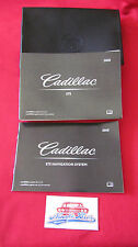 NEW 2010 CADILLAC STS OWNERS & NAVIGATION MANUAL W/ CASE 10