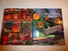 2 Lot, The Country Store & From the Potting Shed by Stephanie Donaldson HBDJ 124
