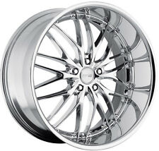 "19"" MRR GT1 Chrome Wheels For Lexus ES300 ES350 SC430 19-Inch 5X114.3 Rims Set"