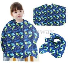 Children Kid Dolphin Barber Cape Hair Cutting Hairdressing Bib Apron Salon Gown
