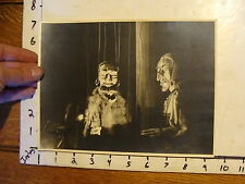 Vintage MARIONETTE PHOTO: PAUL THIELE'S germany 1952 2 men MEPHISTO