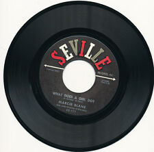 "7"" - MARCIE BLANE - A TIME TO DREAM / BOBBY'S GIRL - SEVILLE 9049 - US 1962"
