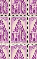 1957 - FIGHT AGAINST POLIO - #1087 Mint -MNH- Sheet of 50 Postage Stamps