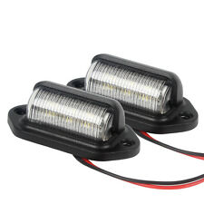 iTimo 1 Pair LED License Plate Tag Lights Replace Rear Lamp Car Door Step Lamp