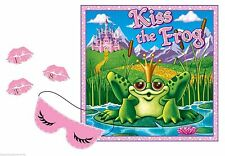 Princess Party Game for 12 - Kiss the Frog Game