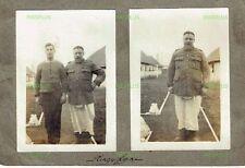 WW1 PHOTOGRAPHS THE KINGS LYNN PRISONER OF WAR CAMP COOK NORFOLK VINTAGE C.1918