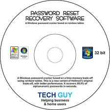 Password Reset Recovery Software Boot PC CD DISK For Windows - TechGuy4U