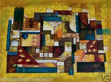 Quality Oil Painting on Canvas - 36 x 48 in. -  'Abstract Patterns'