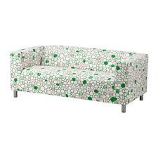 IKEA KLIPPAN Bezug 2er Sofa Marrehill rosa, grün  NEU.  SOFA COVER