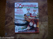 Better Homes And Gardens Decorative Woodcrafts Magazine August 1994