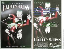 BATMAN HARLEY QUINN ONE-SHOT Alex Ross JOKER Excellent HTF 2nd Print + BONUS
