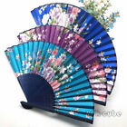 Hot Portable Chinese Classical Printing Dinette Bamboo Fan Summer Gifts CUB