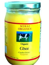 Grass-fed Organic Ghee (Clarified Butter), From Cow's Milk - 13oz