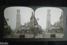 STB405 Scotland Ecosse the Wallace tower of Ayr stereoview photo STEREO albumen