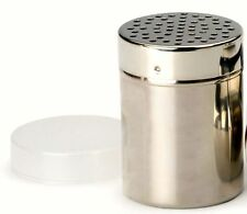 RSVP 18/8 Stainless Steel All Purpose Cheese/Coarse Salt/Pepper Shaker Server