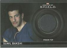 "Marvel Agents of Shield S2 - CC16 ""Sunil Bakshi's Top"" Costume Card #117/425"
