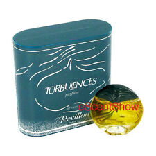 NIB TURBULENCES REVILLON PARIS .5 OZ / 15 ML PURE PARFUM - RARE & HARD TO FIND