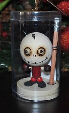 CRAZY CUBEMATES PIN HEAD Boy Paperclip Holder Pencil Stand DOLL Zombie Magnetic
