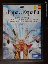DVD EL PAPA EN ESPAÑA - BENEDICTO XVI - 2010 - 2 DISCOS - COMO NUEVA