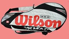 BNWT Wilson Thermoguard 13 tennis Rackets bag guaranteed genuine