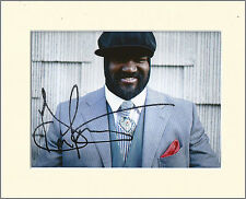 GREGORY PORTER PP 8x10 MOUNTED SIGNED AUTOGRAPH PHOTO