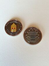 US Marine Corps Master Gunnery Sergeant Challenge Coin