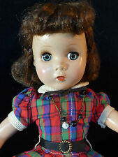 "Spactacular  Madame Alexander Hard Plastic ""Maggie"" doll."