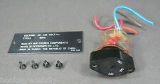 Rotel RCD-855 Audiophile CD Player Part - Voltage Selector Switch w/ Cover Plate